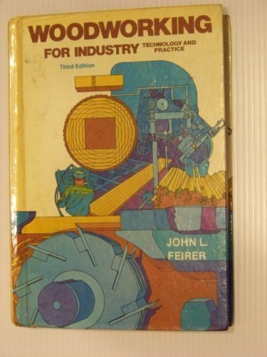 9780870022425: Woodworking for industry: Technology and practice