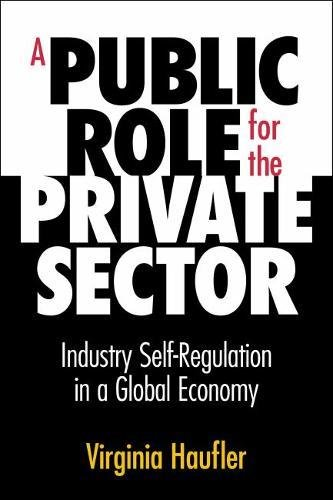 A Public Role for the Private Sector: Virginia Haufler
