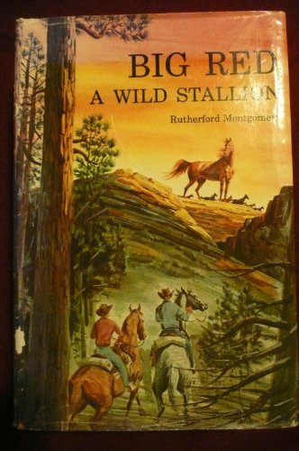 Big Red: A Wild Stallion: Montgomery Rutherford, Illustrated by Crowell, Pers