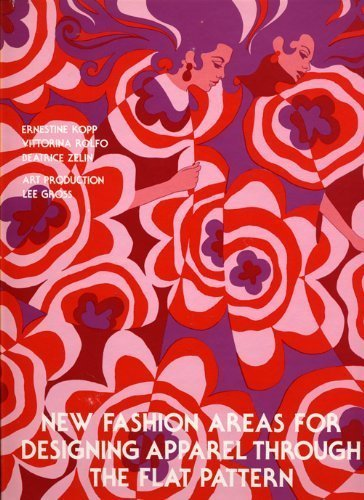 9780870051111: New Fashion Areas for Designing Apparel Through the Flat Pattern (Textbook of the Fit-Fairchild Series)
