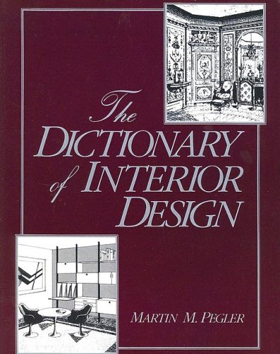 9780870054471: The Dictionary of Interior Design (F.I.T. Collection)