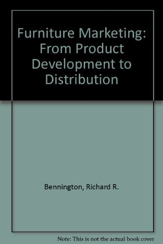 9780870054914: Furniture Marketing: From Product Development to Distribution