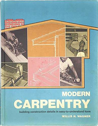 9780870061622: Modern Carpentry