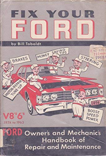 9780870061783: Fix Your Ford 1969-1954 All Fords