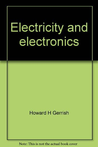9780870062322: Electricity and electronics