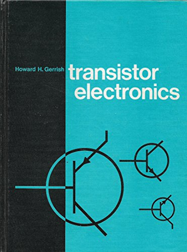 Transistor Electronics 9780870062674 Book by Gerrish, Howard H