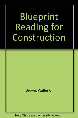 9780870062865: Blueprint Reading for Construction