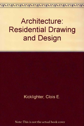 9780870063213: Architecture: Residential Drawing and Design