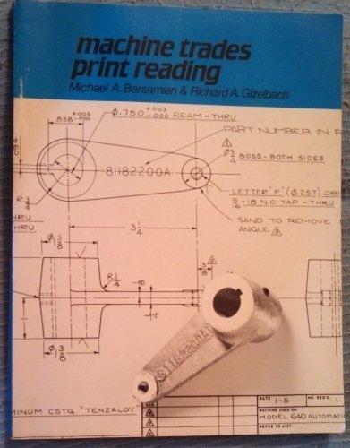 9780870065750: Machine Trades Print Reading