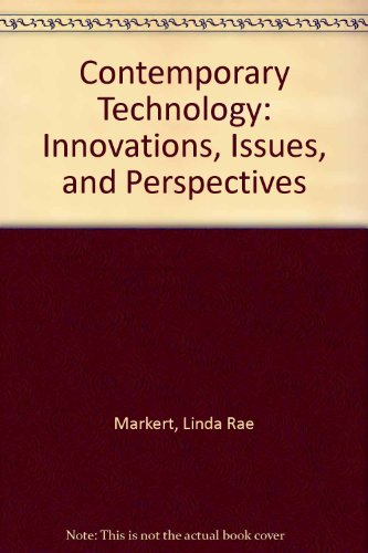 9780870067303: Contemporary Technology: Innovations, Issues, and Perspectives