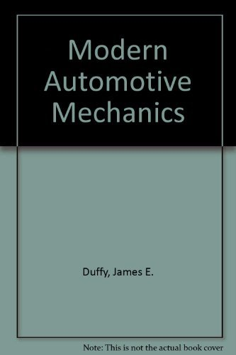 9780870067778: Modern Automotive Mechanics