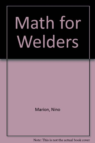 9780870067839: Math for Welders