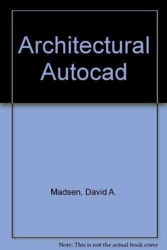 9780870068133: Architectural Autocad