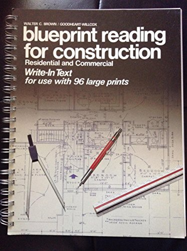 9780870068256 blueprint reading for construction residential and 9780870068256 blueprint reading for construction residential and commercial write in text malvernweather Image collections