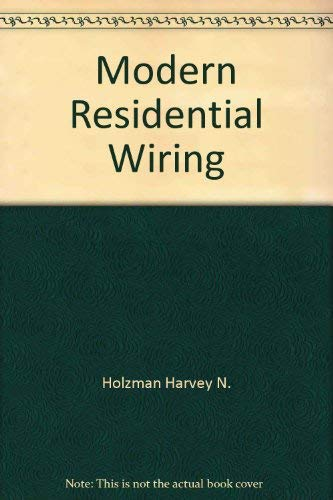 Pleasing 9781566372763 Modern Residential Wiring Abebooks Harvey N Wiring Digital Resources Counpmognl