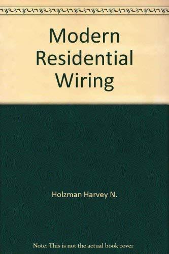 9780870069024 modern residential wiring abebooks harvey n rh abebooks com modern residential wiring 11th edition modern residential wiring workbook pdf