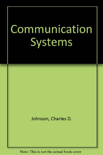 9780870069611: Communication Systems