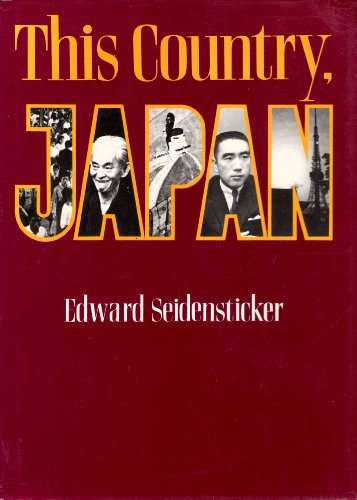 9780870112294: This Country Japan