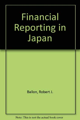 Financial Reporting in Japan: Matsushita, Konosuke