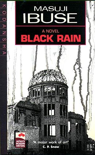 9780870113642: Black Rain: A Novel (Japan's Modern Writers)