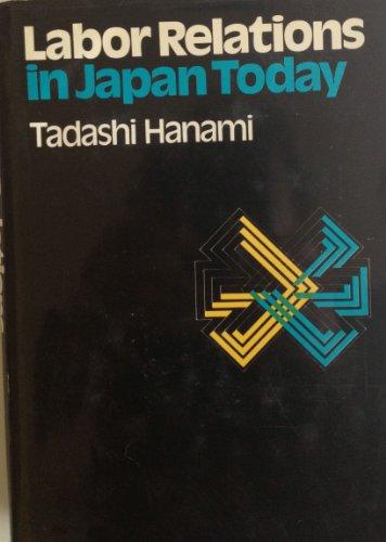 Labor relations in Japan today: Tadashi Hanami