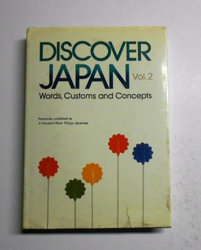 Discover Japan 2: Japanese, Culture Culture; Institute, Japan Inst