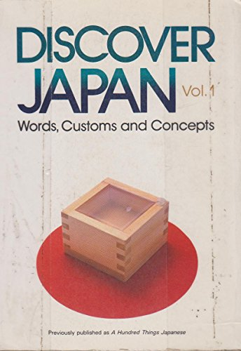 Discover Japan: Words, Customs and Concepts: Institute, Japan Culture