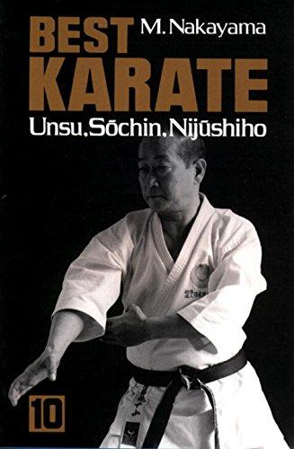 Best Karate, Vol.10: Unsu, Sochin, Nijushiho (Best Karate Series): Nakayama, Masatoshi