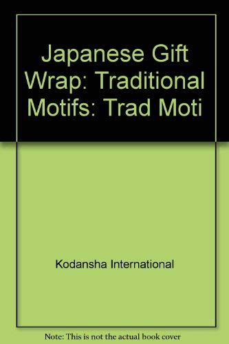 9780870117732: Japanese Gift Wrap: Traditional Motifs