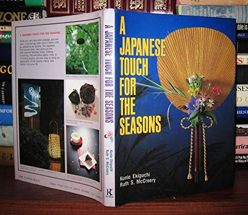 9780870118111: A Japanese Touch for the Seasons