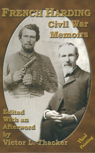 French Harding: Civil War Memoirs