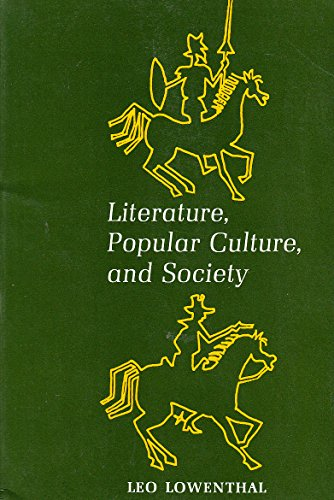 9780870151668: Literature, Popular Culture, and Society