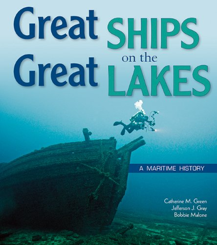 9780870205828: Great Ships on the Great Lakes: A Maritime History