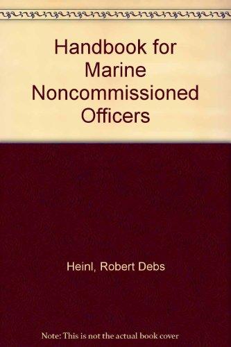 9780870212536: Handbook for Marine NCOs