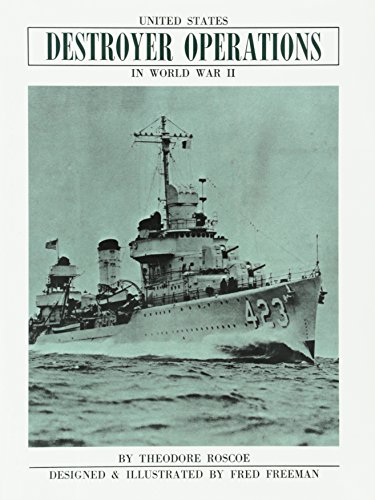 9780870217265: United States Destroyer Operations in World War II