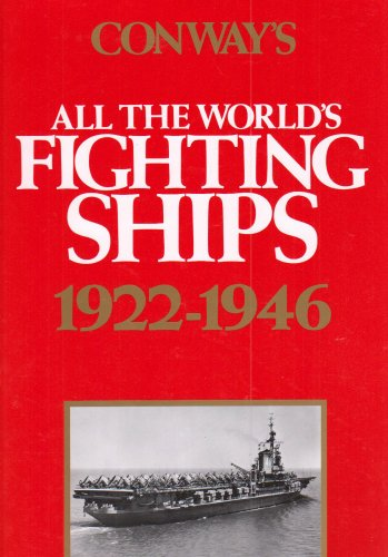 9780870219139: Conway's All the World's Fighting Ships 1922-1946