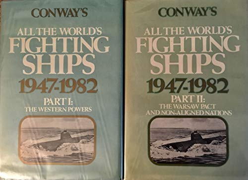 9780870219238: Conway's All the world's fighting ships, 1947-1982 (2 Volume set)