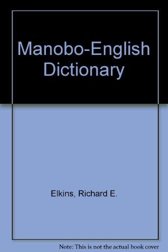 9780870222252: Manobo-English Dictionary