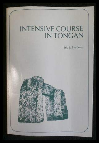 9780870227578: Intensive Course in Tongan (PALI language texts)