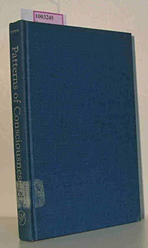 Patterns of Consciousness; An Essay on Coleridge.: Haven, Richard