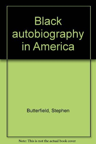 9780870231629: Black autobiography in America