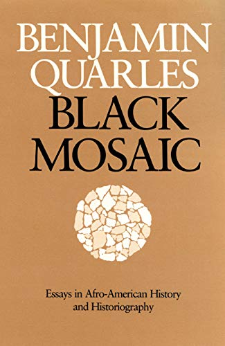 9780870236051: Black Mosaic: Essays in Afro-American History and Historiography