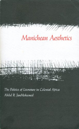 9780870236518: Manichean Aesthetics: Politics of Literature in Colonial Africa