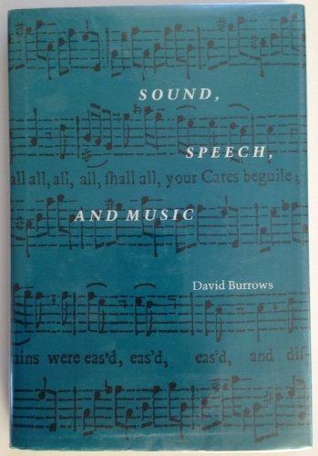 9780870236853: Sound, Speech, and Music