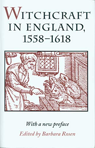 9780870237539: Witchcraft in England, 1558-1618 (Syracuse Studies on Peace and Conflict)
