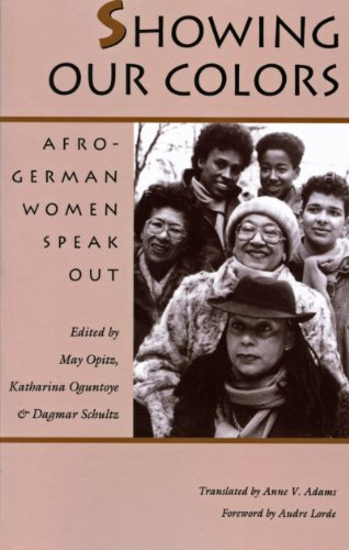 9780870237591: Showing Our Colors: Afro-German Women Speak Out