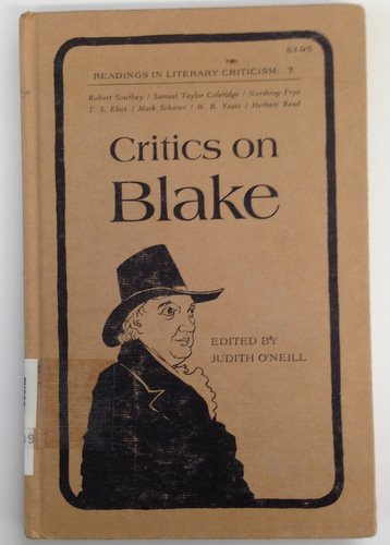 9780870241895: Critics on Blake (Readings in literary criticism, 7)