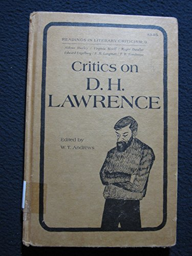 9780870242076: Critics on D. H. Lawrence (Readings in literary criticism, 9)