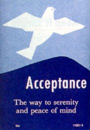 9780870292347: Acceptance: The Way to Serenity and Peace of Mind