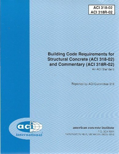 9780870310652: Building Code Requirements for Structural Concrete (ACI 318-02) and Commentary (ACI 318R-02) (2002)